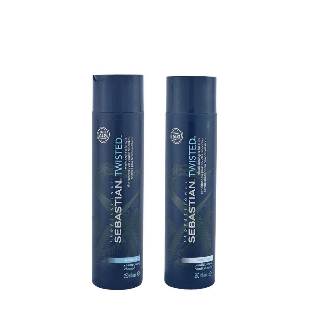 Sebastian Twisted Shampoo 250ml Conditioner 250ml für lockiges Haar