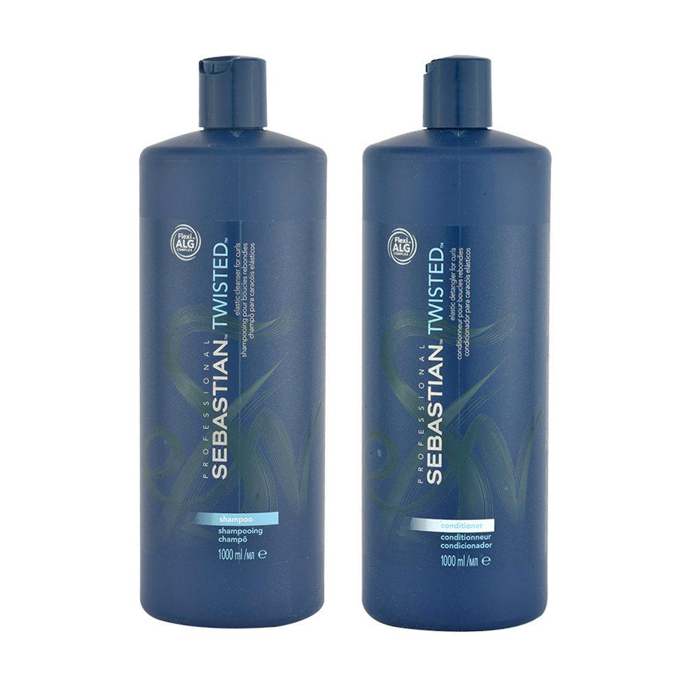 Sebastian Twisted Shampoo 1000ml Conditioner 1000ml für lockiges Haar