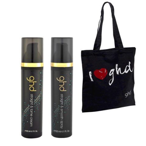 Ghd Kit Straight & Tame Cream 120ml Straight & Smooth Spray 120ml
