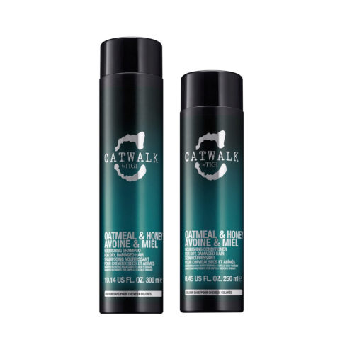 Tigi Catwalk Kit Shampoo 300ml Conditioner 250ml Für Trockenes Haar