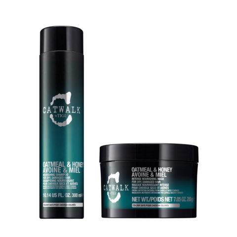 Tigi Catwalk Kit Shampoo 300ml Maske 200gr Für Trockenes Haar
