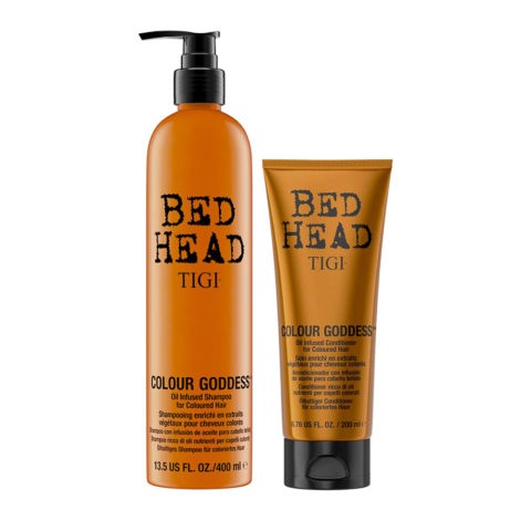 Tigi Bed Head Colour Goddess Oil infused Shampoo 400ml Conditioner 200ml