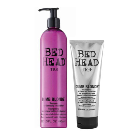 Tigi Bed Head Dumb Blonde Shampoo 400ml Conditioner 200ml