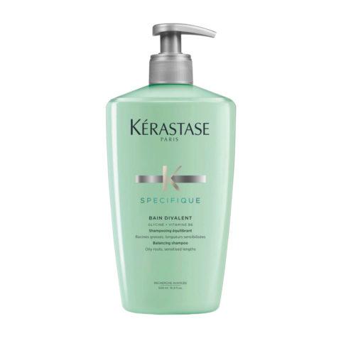 Kerastase Specifique Bain Divalent 500ml - Haarbad bei fettiger Kopfhaut und trockenem Haar