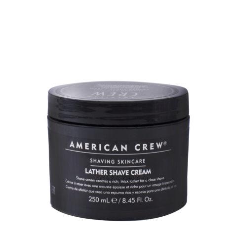 American crew Lather Shave Cream 250ml - Rasiercreme