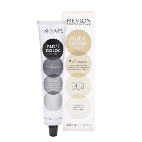 Revlon Nutri Color Creme 931 Leichtes Beige 100ml - Farbemask