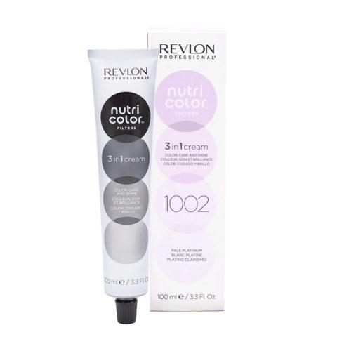 Revlon Nutri Color Creme 1002 Weisse Platin 100ml - Farbmaske