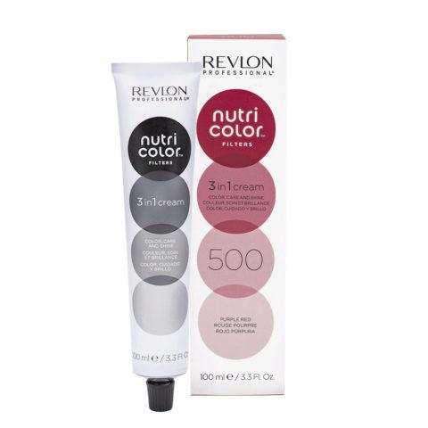 Revlon Nutri Color Creme 500 Violett rot 100ml - Farbemaske