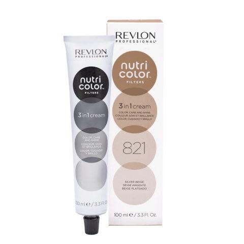 Revlon Nutri Color Creme 821 Silberbeige 100ml - Farbmaske