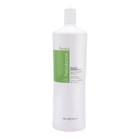 Fanola Rebalance Shampoo Für Fettige Kopfhaut 1000ml