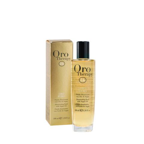 Fanola Oro Puro Beleuchtungsöl für alle Haartypen 100ml