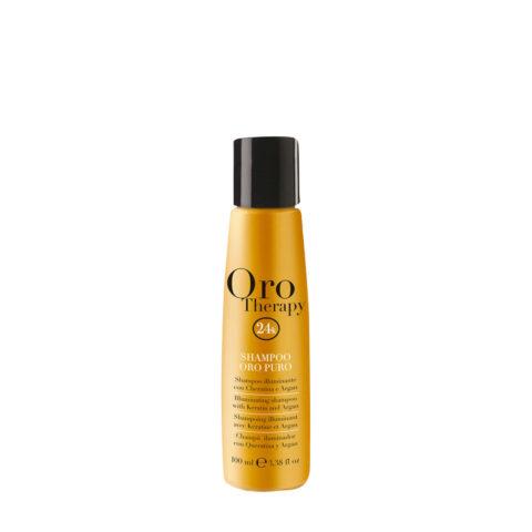 Fanola Oro Therapy Oro Puro Shampoo für alle Haartypen 100ml