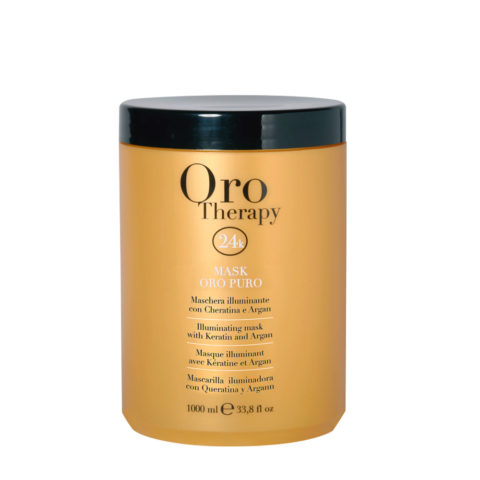 Fanola Oro Therapy Oro Puro Maske Für alle Haartypen 1000ml