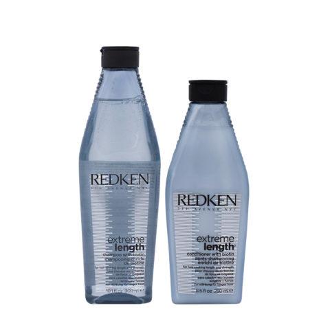 Redken Extreme Length Stärkendes Shampoo 300ml Und Conditioner 250ml