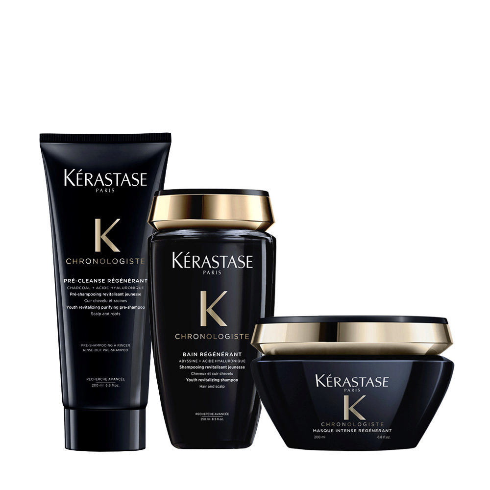 Kerastase Chronologiste Pre Shampoo 200ml Shampoo 250ml Maske 200ml