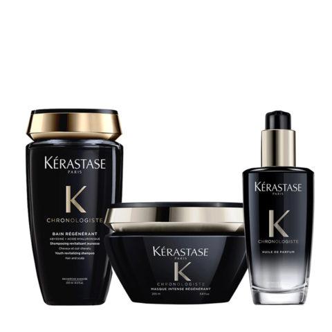 Kerastase Chronologiste Shampoo 250ml Maske 200ml Duftöl Für Haare 100ml