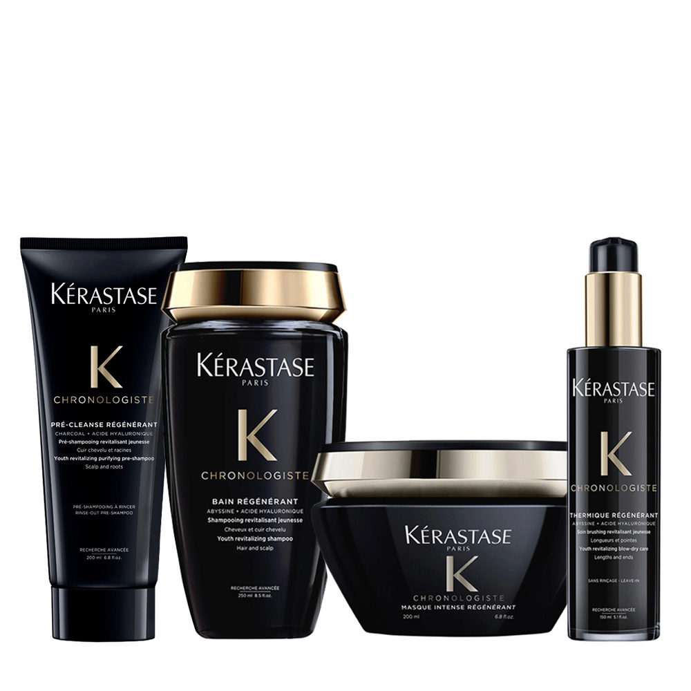 Kerastase Chronologiste Pre Shampoo 200ml Shampoo 250ml Maske 200ml Creme 150ml