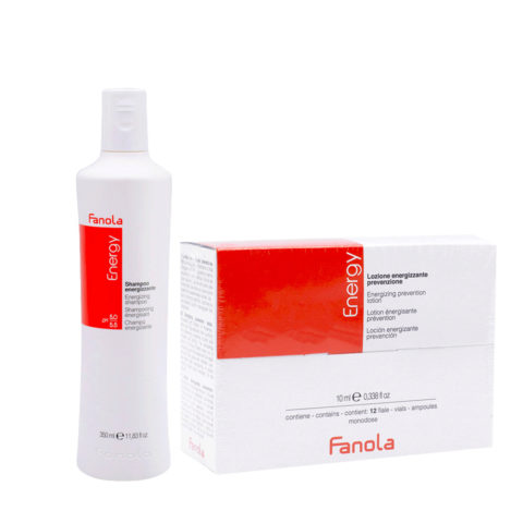 Fanola Antihaarausfall Shampoo 350ml Und Ampullen 12x10ml
