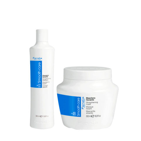 Fanola Smooth Care Shampoo 350ml Und Maske 500ml