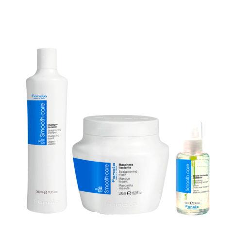 Fanola Smooth Care Shampoo 350ml Maske 500ml Serum 100ml