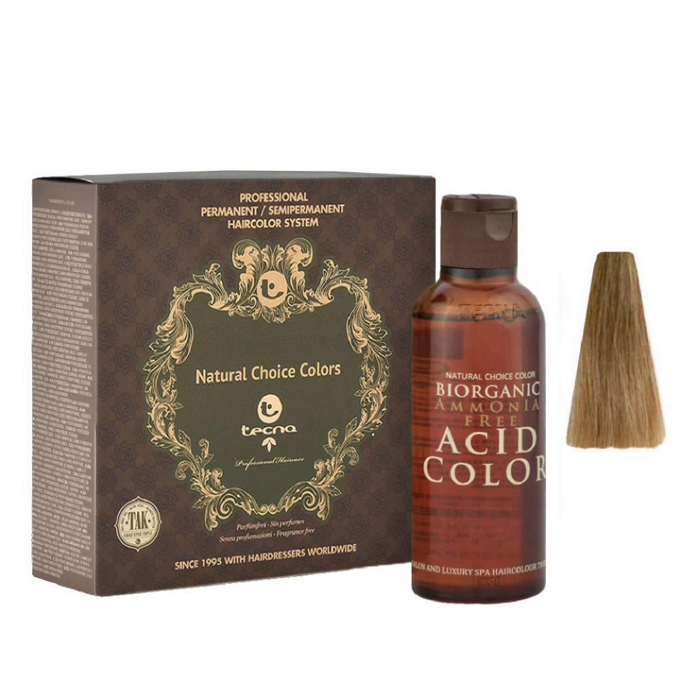 8.32 Hellblond natur-gold Tecna NCC Biorganic acid color 3x130ml