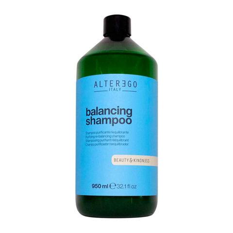 Alterego Pure Balancing Rebalancing Shampoo fettige Kopfhaut oder Schuppen 950ml