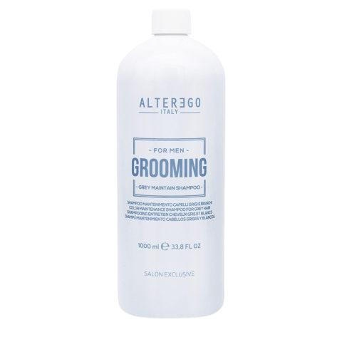 Alterego Grooming Grey Anti-gelbes Shampoo für graues Haar 1000ml