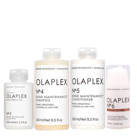 Olaplex Komplettes Rekonstruktionsset Für Beschädigtes und Krauses Haar