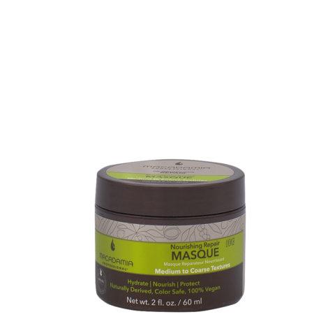 Macadamia Nourishing Repair Masque 60ml - Feuchtigkeits- und reichhaltige Maske für mittleres bis dickes Haar
