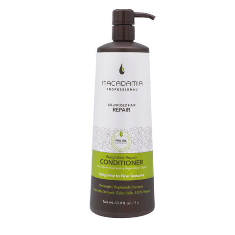 Macadamia Weightless Repair Conditioner 1000ml
