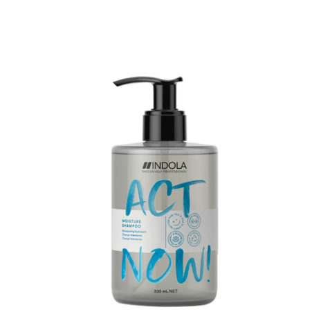 Indola Act Now! Moisture Shampoo Für Trocknes Haar 300ml