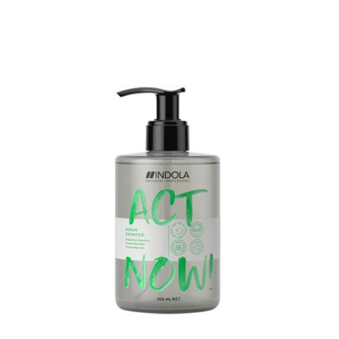 Indola Act Now! Repair Shampoo Für Geschädigtes Haar 300ml