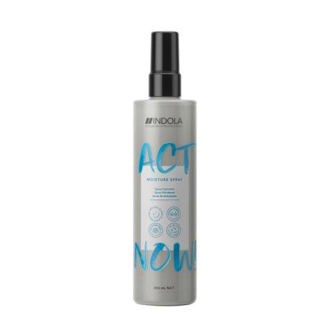 Indola Act Now! Feuchtigkeitsspray Für Trockenes Haar 200ml