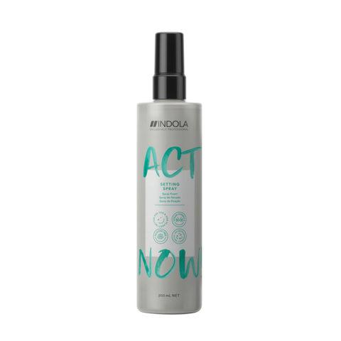 Indola Act Now! Setting Entwirrungsspray für alle Haartypen 200ml