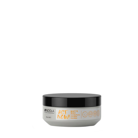 Indola Act Now! Matte Wax Tonwachs 85ml