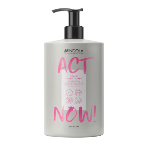 Indola Act Now! Color Conditioner Für Gefärbtes Haar 1000ml