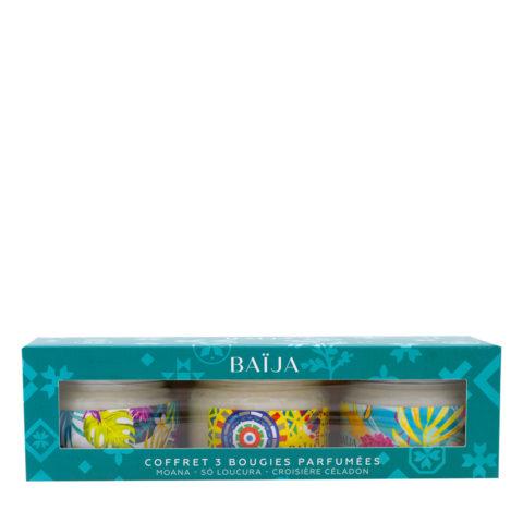 Baija Paris Geschenkbox mit 3 Duftkerzen 3x50gr