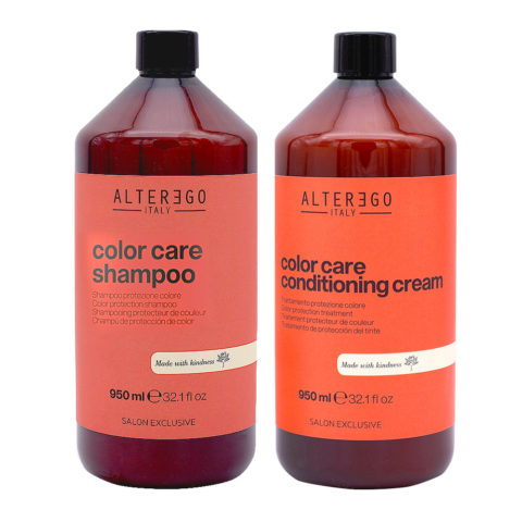 Alterego Kit Farbiges Haar Shampoo 950ml und Maske 950ml