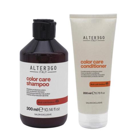 Alterego Kit Farbiges Haar Shampoo 300ml und Conditioner 200ml