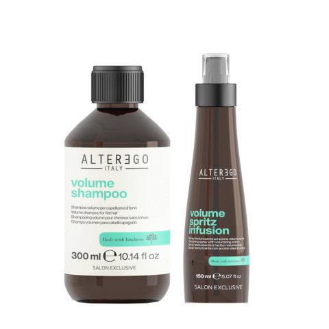 Alterego Set Volume Shampoo 300ml Und Volumizing Spray 150ml