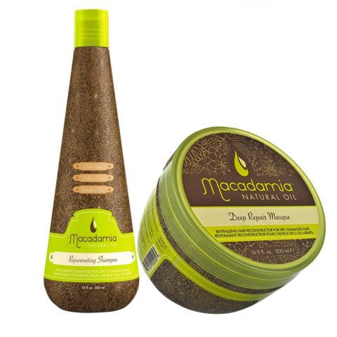 Macadamia Kit für sehr geschädigtes Haar Shampoo 300ml und Maske 470ml