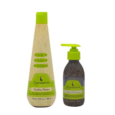 Macadamia Kit Shampoo 300ml und feuchtigkeitsspendendes Arganöl 125ml