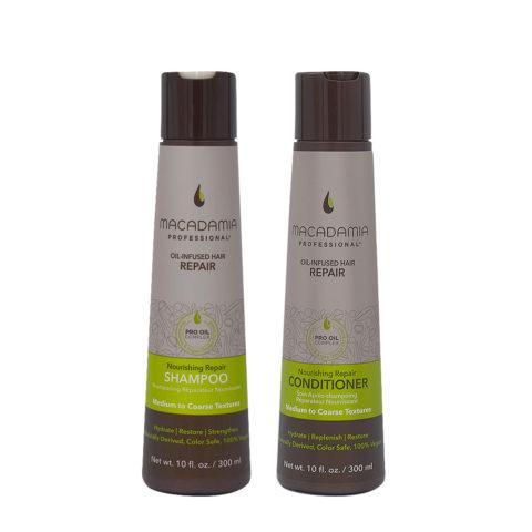 Macadamia Set Beschädigtes Haar Shampoo 300ml und Conditioner 300ml