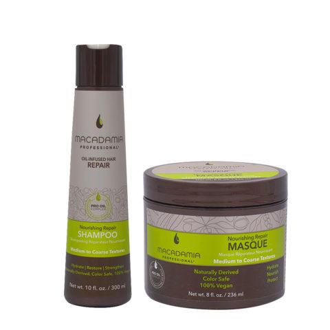 Macadamia Set Beschädigtes Haar Shampoo 300ml und Maske 236ml