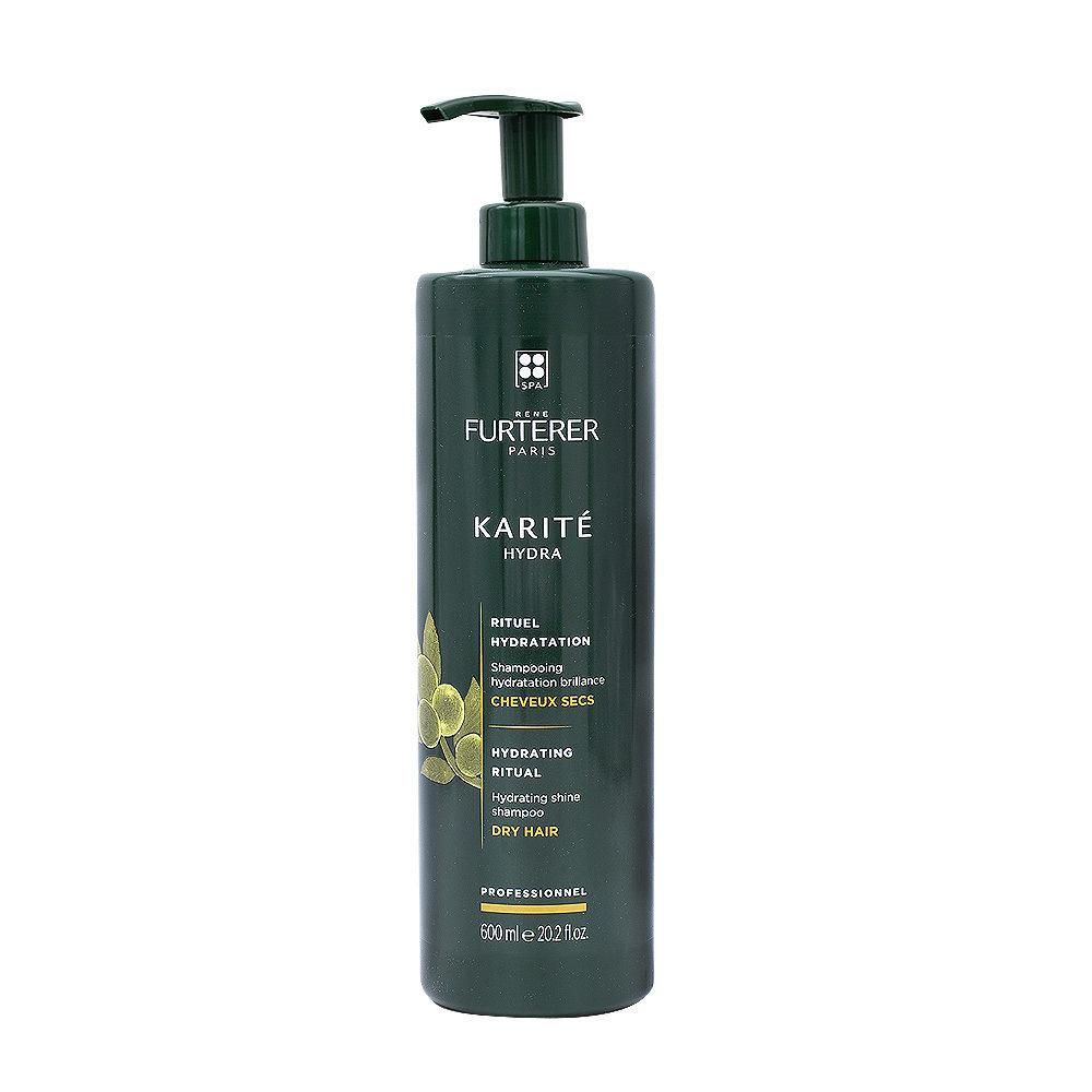 René Furterer Karité feuchtigkeitsspendendes Shampoo für trockenes Haar 600ml
