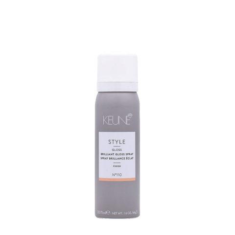 Keune Style Brilliant Gloss Spray N.110, 75ml - Polierspray
