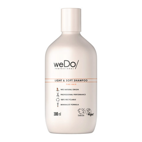 weDo Light & Soft Sulfatfreies Shampoo für feines Haar 300ml