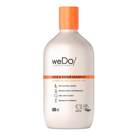 weDo Rich & Repair Sulfatfreies Shampoo für stark geschädigtes krauses Haar 300ml