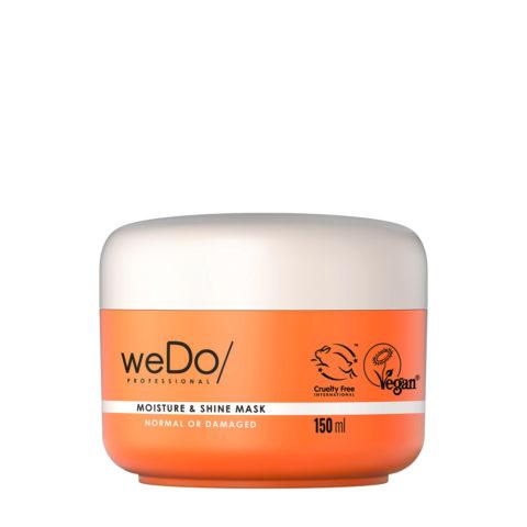 weDo Moisture & Shine Feuchtigkeitsmaske für normales oder geschädigtes Haar 150ml