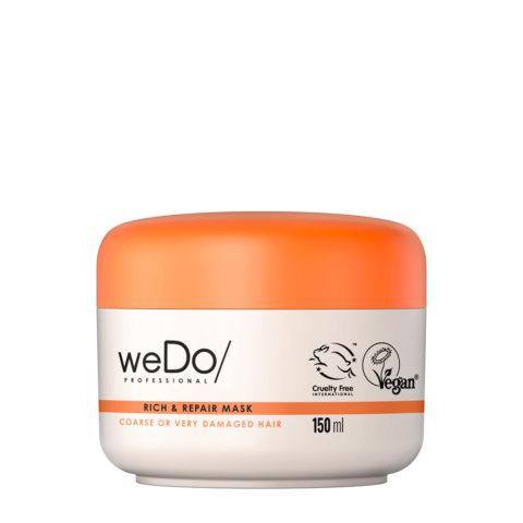 weDo Rich & Repair Pflegemaske für krauses oder stark geschädigtes Haar 150ml